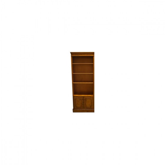 CU-2_Open_Bookcase_with_Bottom_Cupboard_600